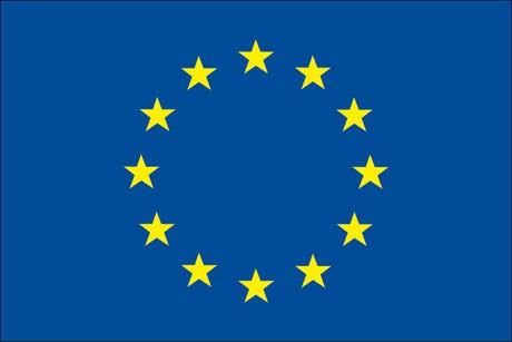 Europarat als Fanfahne