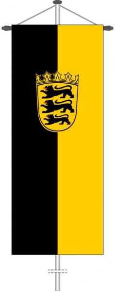 Baden-Würtemberg - Dienstflagge als Bannerfahne