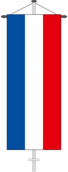 Schleswig-Holstein - Streifenflagge als Bannerfahne