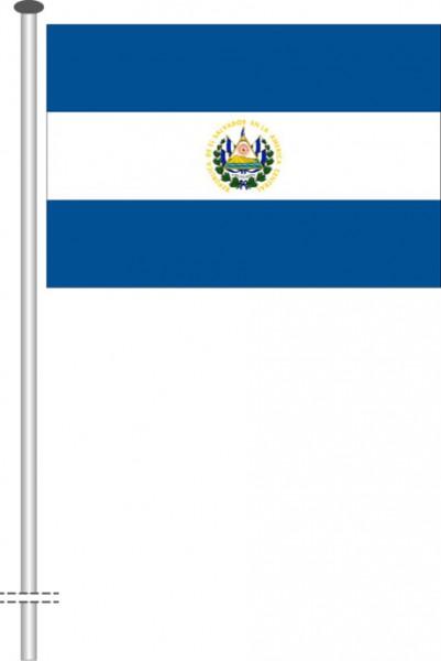 El Salvador als Querformatfahne