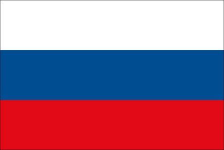 Russland als Fanfahne