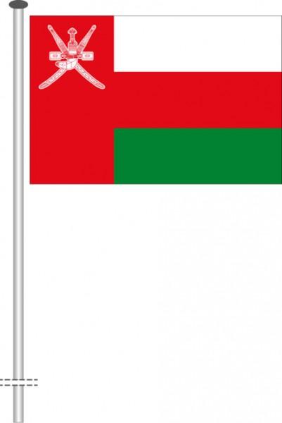Oman als Querformatfahne