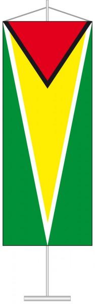 Guyana als Tischbanner