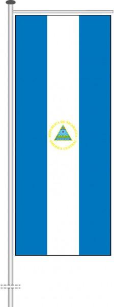 Nicaragua als Auslegerfahne
