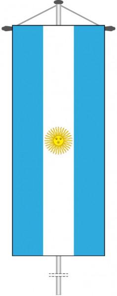 Argentinien als Bannerfahne