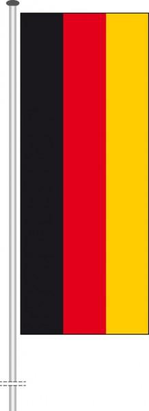 Deutschland als Hochformatfahne