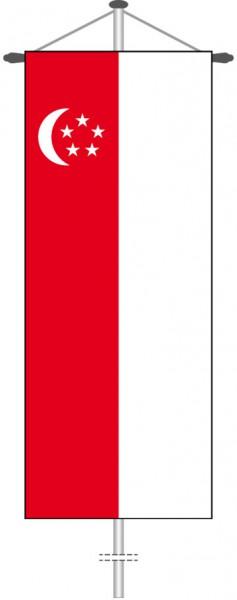 Singapur als Bannerfahne
