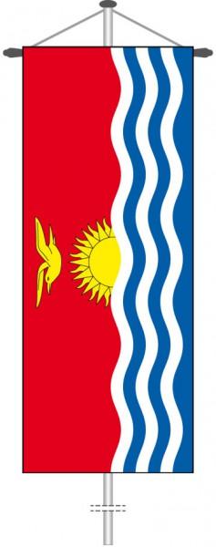 Kiribati als Bannerfahne
