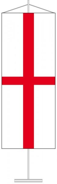 England als Tischbanner