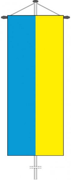 Ukraine als Bannerfahne