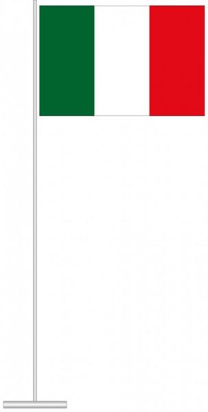 Italien als Tischfahne