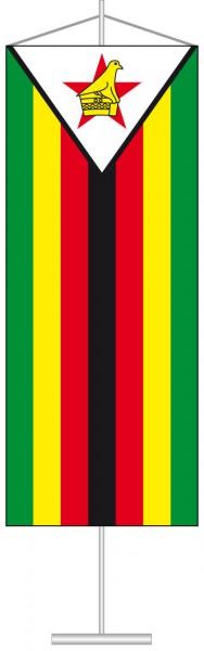 Simbabwe als Tischbanner