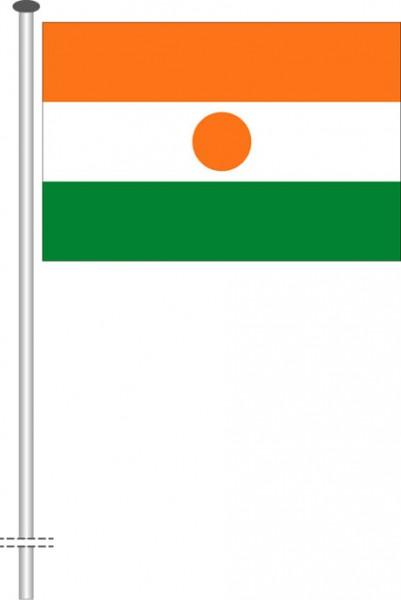 Niger als Querformatfahne