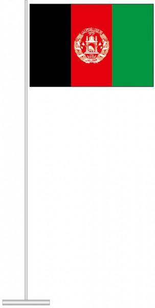 Afghanistan als Tischfahne