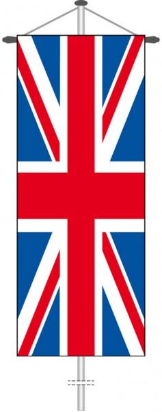 Großbritannien als Bannerfahne