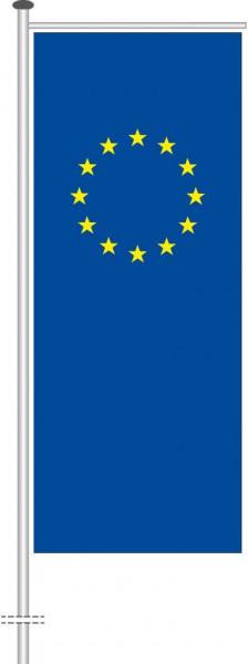 Europarat als Auslegerfahne
