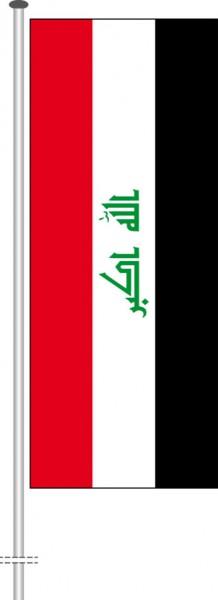 Irak als Hochformatfahne