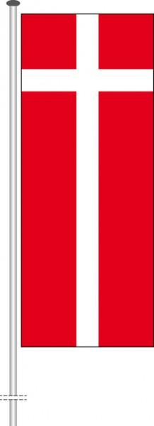 Daenemark als Hochformatfahne