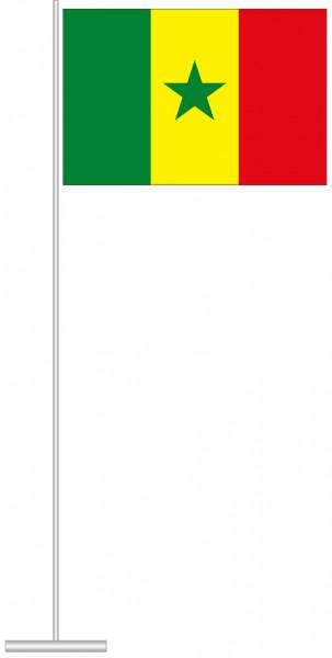 Senegal als Tischfahne