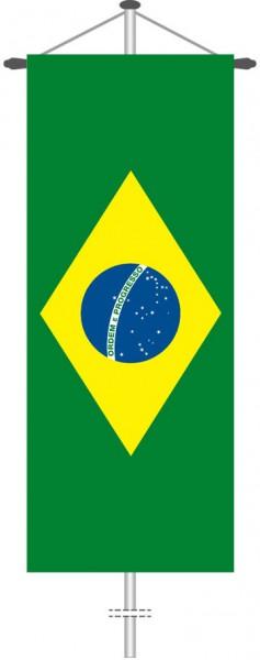 Brasilien als Bannerfahne
