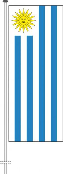 Uruguay als Hochformatfahne