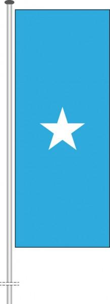 Somalia als Hochformatfahne