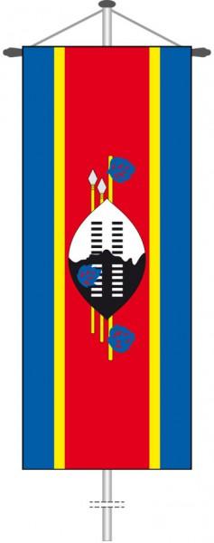 Swasiland als Bannerfahne