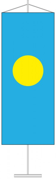 Palau als Tischbanner