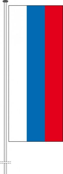 Russland als Hochformatfahne
