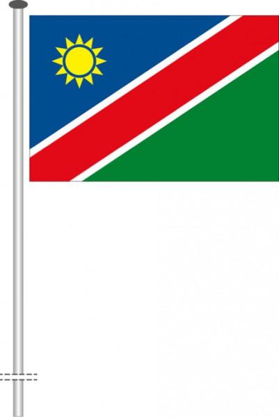 Namibia als Querformatfahne