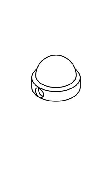 Alu-Abdeckkappe Mastkopf Standard