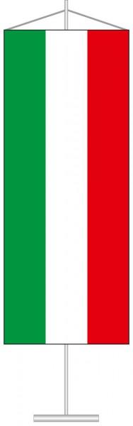 Nordrhein-Westfalen - Streifenflagge als Tischbanner