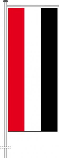 Jemen als Auslegerfahne