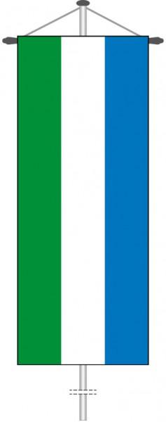 Sierra Leone als Bannerfahne