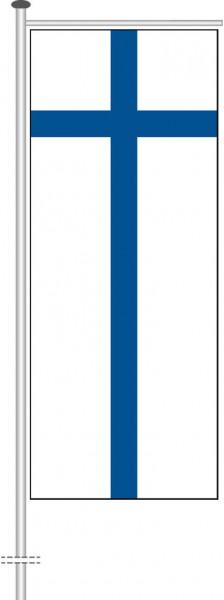 Finnland als Auslegerfahne