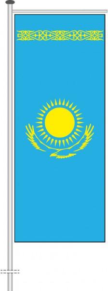 Kasachstan als Auslegerfahne