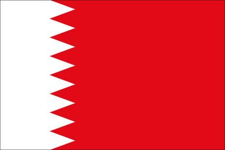 Bahrain als Fanfahne