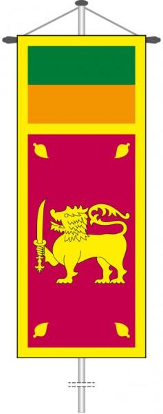Sri Lanka als Bannerfahne