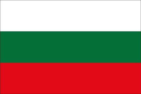 Bulgarien als Fanfahne