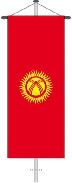 Kirgisistan als Bannerfahne