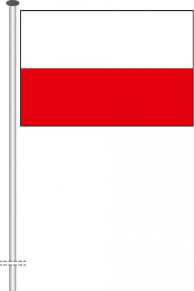 Thüringen - Streifenflagge als Querformatfahne