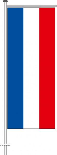 Schleswig-Holstein - Streifenflagge als Auslegerfahne