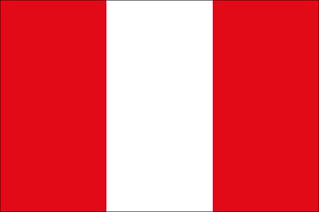 Peru als Fanfahne