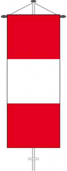 Peru als Bannerfahne