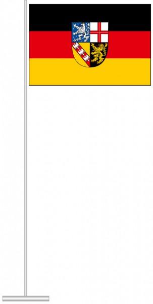 Saarland - Bürgerflagge als Tischfahne