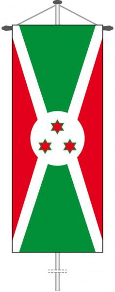 Burundi als Bannerfahne