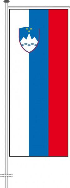 Slowenien als Auslegerfahne