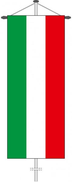Nordrhein-Westfalen - Streifenflagge als Bannerfahne