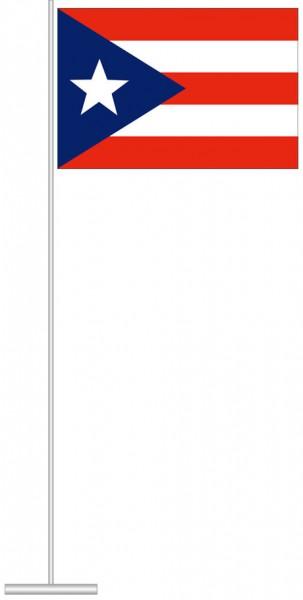 Puerto Rico als Tischfahne