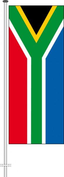 Suedafrika als Hochformatfahne
